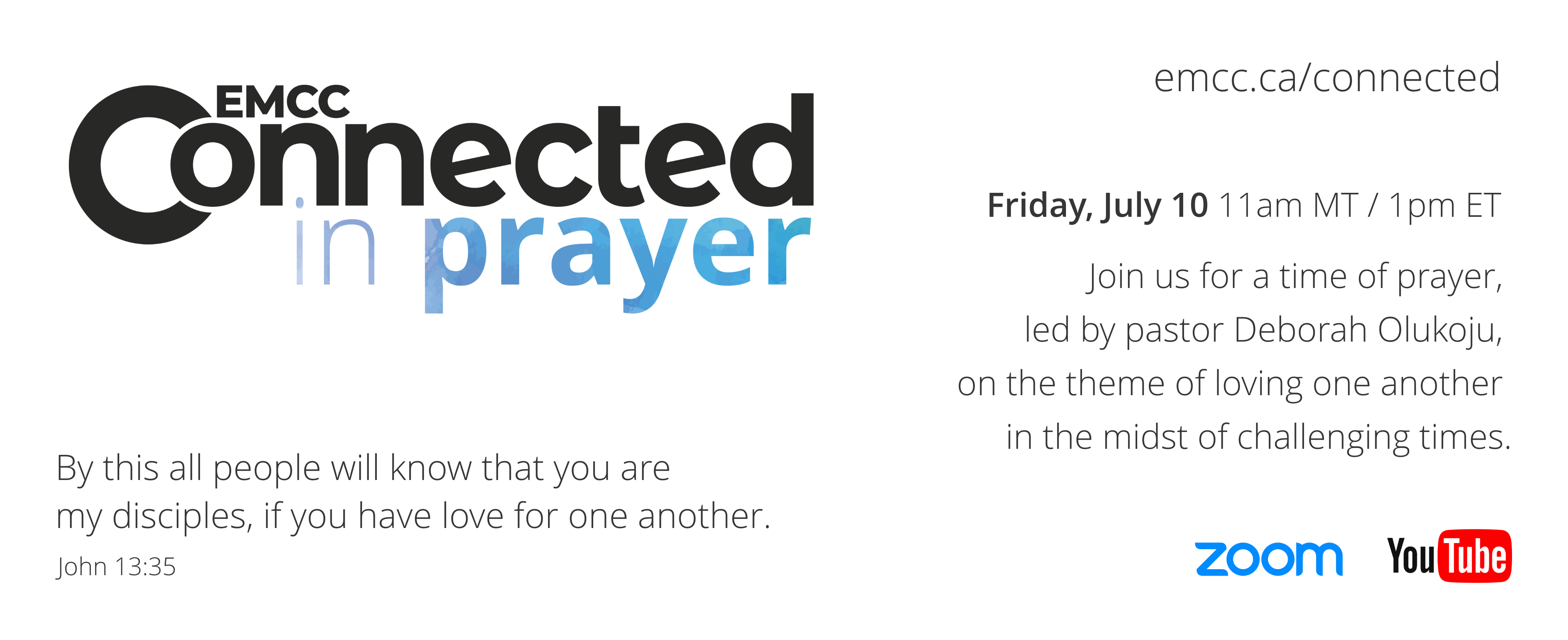 EMCC Connected in Prayer - July 10