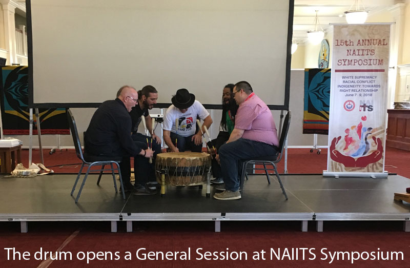 Drum opens NAIITS Session